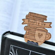 Books and Tea Bookmark