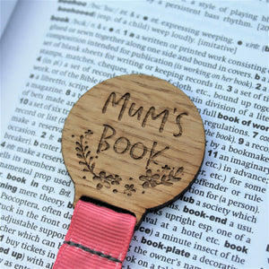 Mum's Book Bookmark