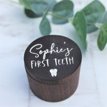 Personalised First Tooth Keepsake Box