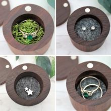 Happily Ever After Wooden Ring Box