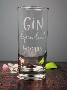 Gin glass for her ideal birthday gift for woman 60th birthday