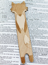 Cunning Fox Wooden Bookmark