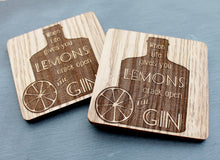 If Life Gives You Lemons Crack Open The Gin Coaster