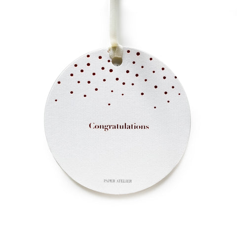 Congratulations Gift Tag