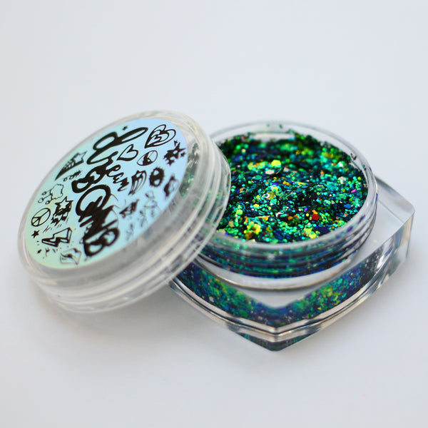 Dream SQNS Glitter Paste - Chameleon