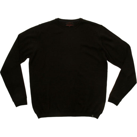 Stonehill Basic O-neck Knit 009 Black
