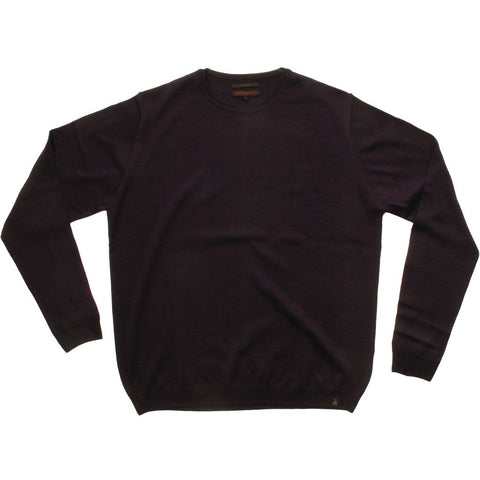 Stonehill Basic O-neck Knit 194 Anthracite Grey melange