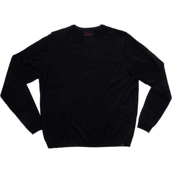 Stonehill Basic V-neck Knit 005 Navy