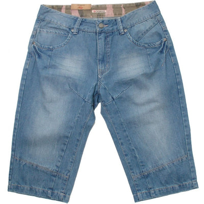 Finesmekker DULMEN Denim Capri Shorts 012 Lt. Blue