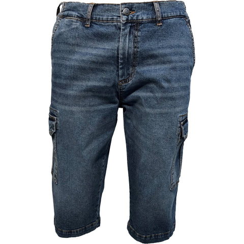 ELIAM / Denim Cargo capri, stretch / 300121X - Stonewash