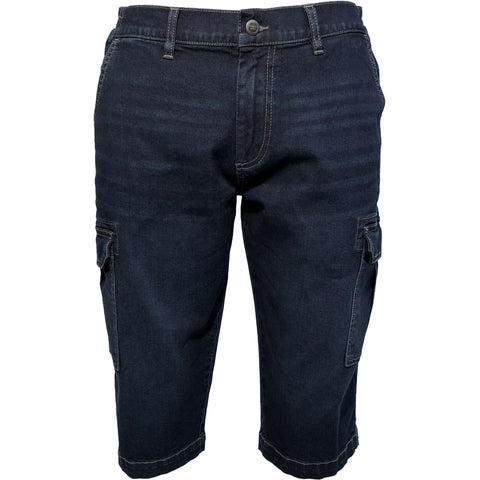 ELIAM / Denim Cargo capri, stretch / 300121X - Denim