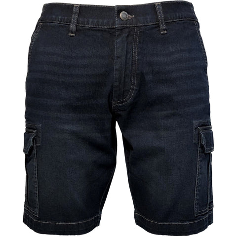 EMERI / Denim Cargo shorts, stretch / 300129X - Denim