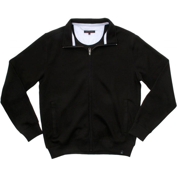 Stonehill Full zipper sweatshirt Sweatshirts 009 Black