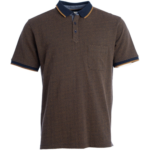 Naalnish polo / 100213 - Navy melange