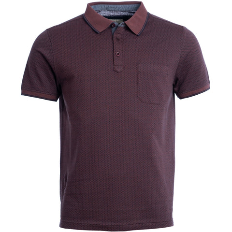 Naalnish polo / 100213 - Bordeaux melange