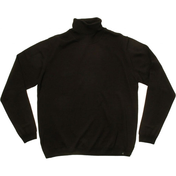 Stonehill Roll-neck Knit 009 Black