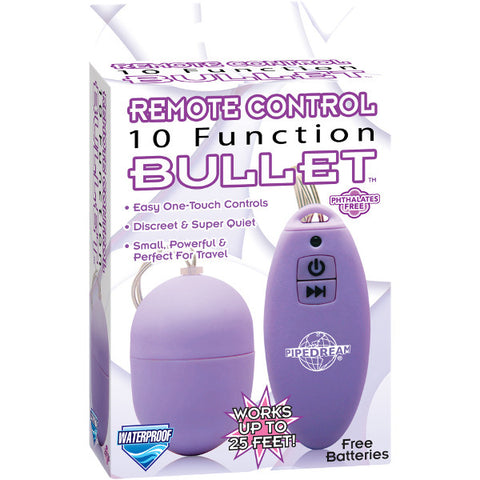 10 Function Remote Control Bullet | Private Playground: Sex Toys & Adult Products - 2