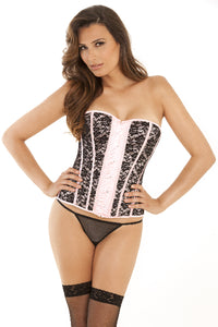 Desert Rose Bustier and G-String Set