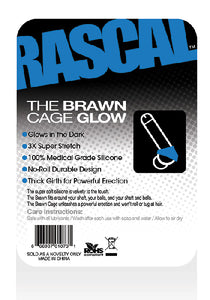 The Brawn Cage Glow Blue