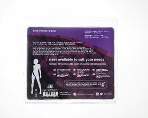 Strapless Strap On Vibrating Silicone M - Purple