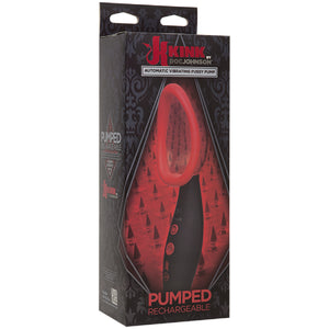 Pumped - Rechargeable Automatic Vibrating Pussy Pump