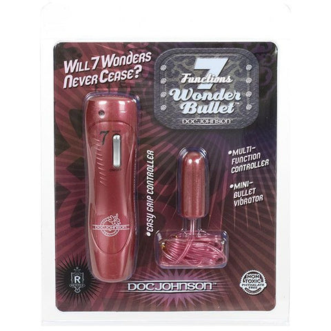 7 Wonder Bullet | Private Playground: Sex Toys & Adult Products - 1