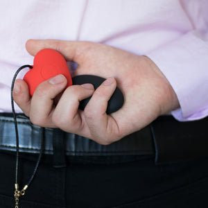 A playful remote control wearable vibrator