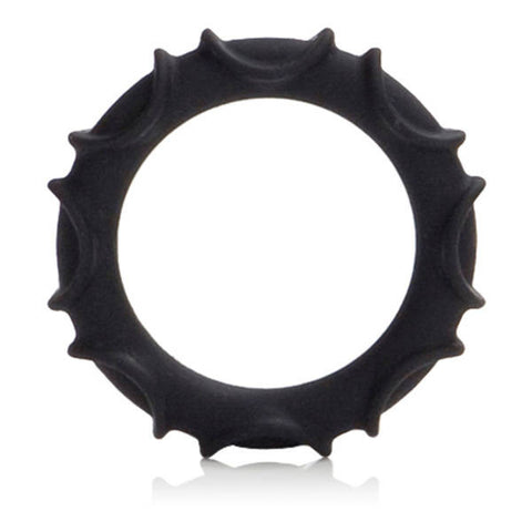 Adonis Silicone Ring Atlas - Black | Private Playground: Sex Toys & Adult Products - 1
