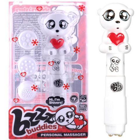 Bzzz Buddies Shivers White | Private Playground: Sex Toys & Adult Products - 2