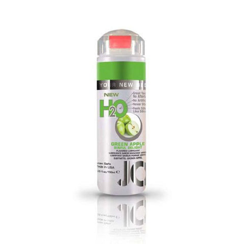 JO H2O Flavoured Lubricant Green Apple 5.25oz/155mL | Private Playground: Sex Toys & Adult Products