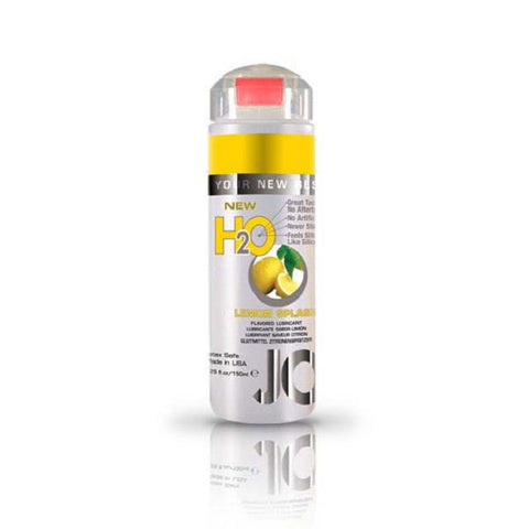 JO H2O Flavoured Lubricant Lemon Splash 5.25oz/155mL | Private Playground: Sex Toys & Adult Products