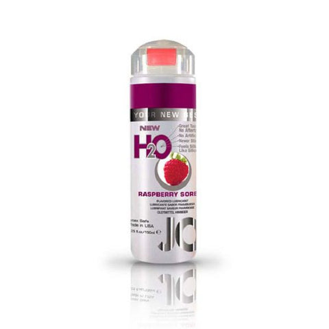 JO H2O Flavoured Lubricant Raspberry Sorbet 5.25oz/155mL | Private Playground: Sex Toys & Adult Products