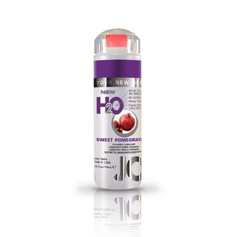 JO H2O Flavoured Lubricant Sweet Pomegranate 5.25oz/155mL | Private Playground: Sex Toys & Adult Products