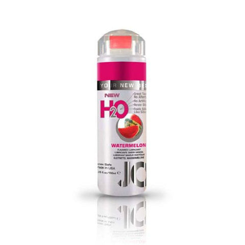 JO H2O Flavoured Lubricant Watermelon 5.25oz/155mL | Private Playground: Sex Toys & Adult Products