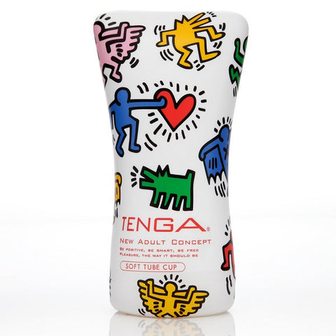Keith Haring Soft Tube Cup | Private Playground: Sex Toys & Adult Products - 1