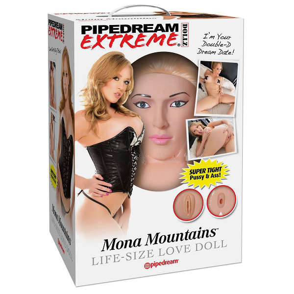Pipedream Extreme Dollz Mona Mountains Life-Size Love Doll | Private Playground: Sex Toys & Adult Products - 1