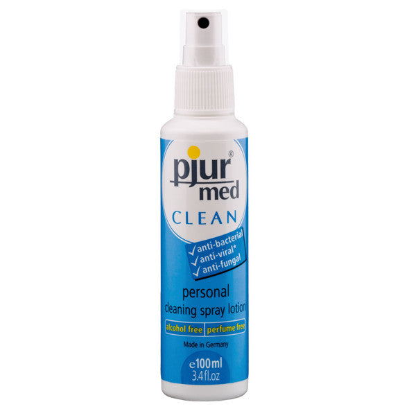 pjur Med Clean Spray 100mL | Private Playground: Sex Toys & Adult Products