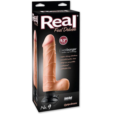 Real Feel Deluxe No. 9 Flesh | Private Playground: Sex Toys & Adult Products - 2