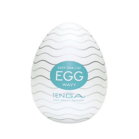 Tenga Egg Wavy | Private Playground: Sex Toys & Adult Products - 1