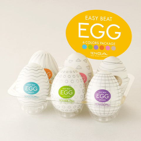Tenga Eggs Assorted 6 Pack | Private Playground: Sex Toys & Adult Products - 2