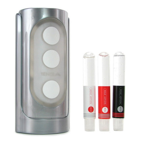 Tenga Flip Hole Silver | Private Playground: Sex Toys & Adult Products - 1