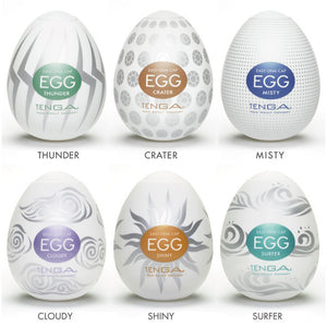 Tenga Hard Boiled Eggs Assorted 6 Pack | Private Playground: Sex Toys & Adult Products - 2