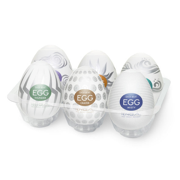 Tenga Hard Boiled Eggs Assorted 6 Pack | Private Playground: Sex Toys & Adult Products - 1