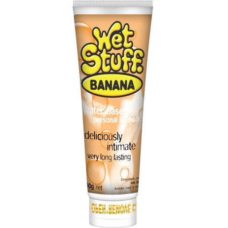 Wet Stuff Banana Flavoured 100g Tube | Private Playground: Sex Toys & Adult Products