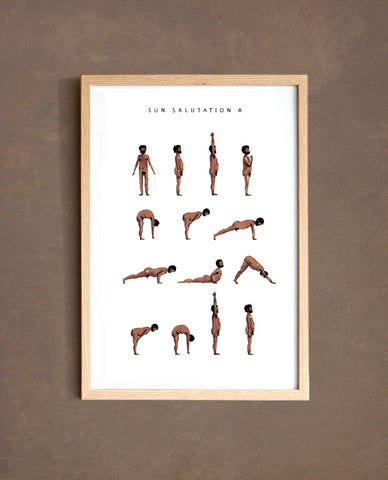 Sun Salutation A - Man - Brown