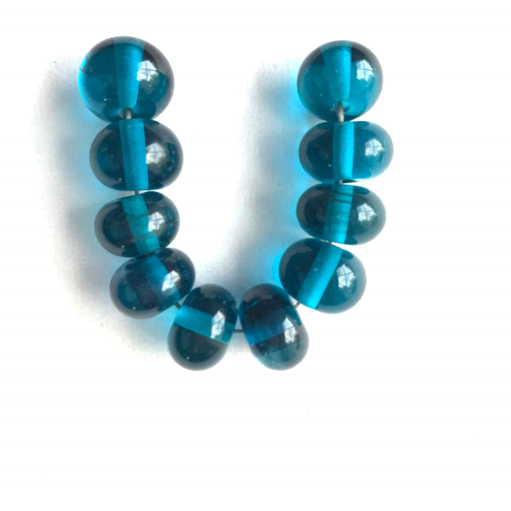 Atlantic: Serenity Single Color Beads (Set of 10)