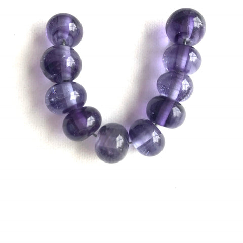 Twilight: Light Violet Single Color Beads (Set of 10)