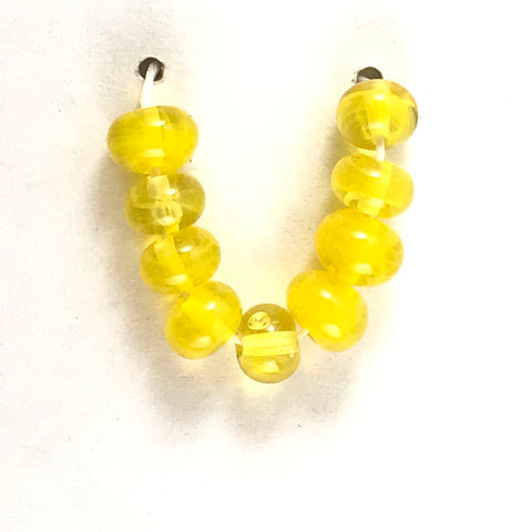 Lemon: Lemon Juice Single Color Beads