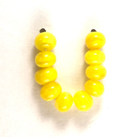 Lemon: Swirled Beads
