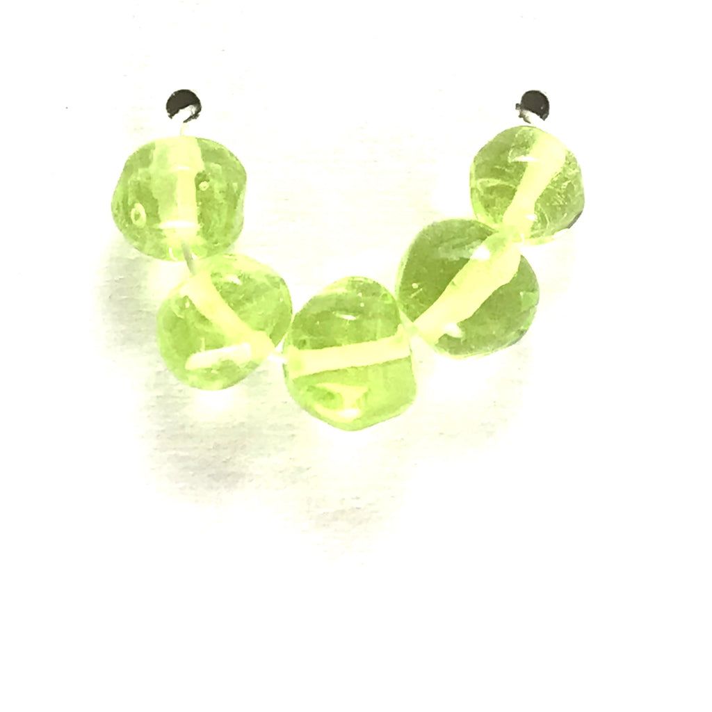Lime: Lime Juice Single Color Beads